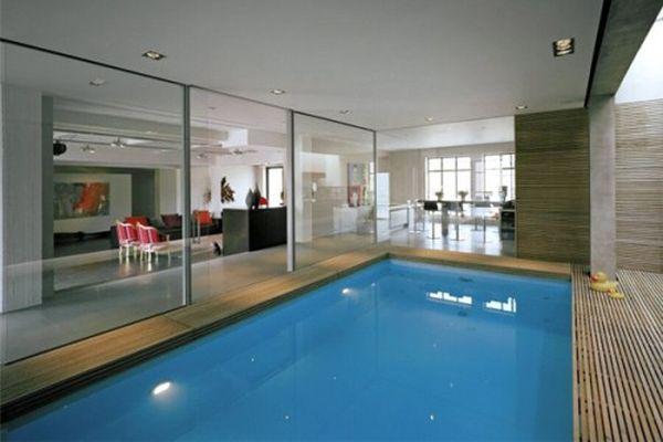 Xây dựng hồ bơi trong nhà tạo sự hiện đại trong không gian chung