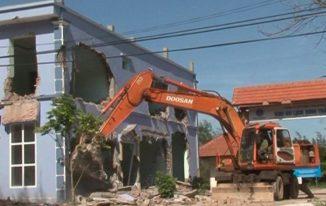 Xây dựng trái phép sẽ bị dỡ bỏ công trình xây dựng