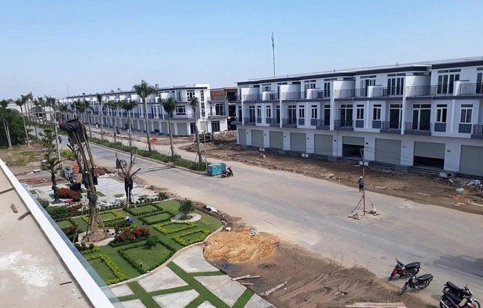 mặt bằng dự án Phuc An City
