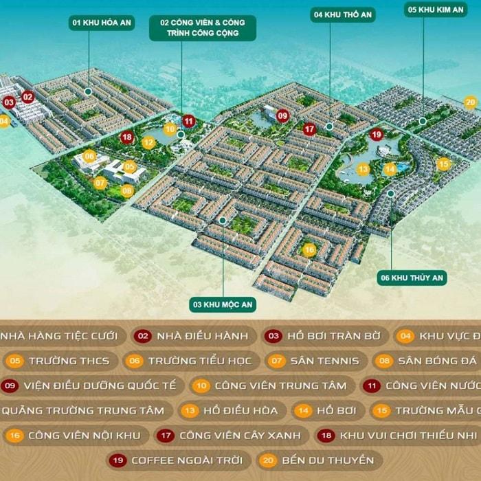 Tiện ích của khu dân cư Phuc An city