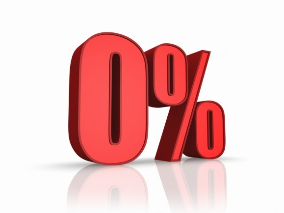 Lãi suất 0% trong 2 năm khi thanh toán trước một khoảng nhỏ