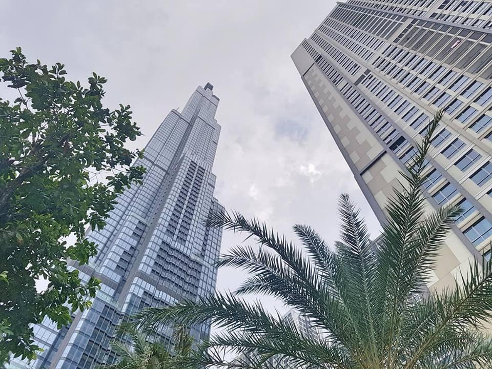 Tòa nhà The Landmark 81 do công ty Coteccons là nhà thầu chính.