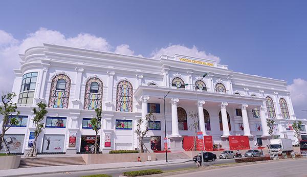 Trung tâm thương mại do Vingroups làm nhà thầu chính
