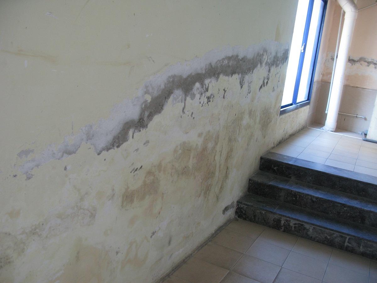 Cạo lớp sơn cũ trên tường để dễ dàng sơn mới
