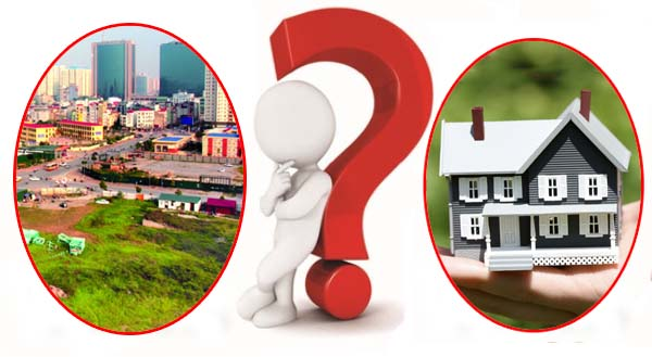 Nên mua nhà cũ hay xây mới?