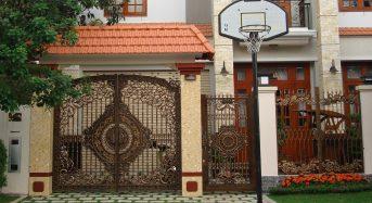Phong thủy và kiêng kỵ khi xây cổng nhà