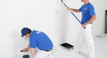 Cách sơn tường nhà đã quét vôi