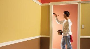 Cách sơn tường nhà đơn giản