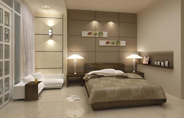 Chọn tông màu gạch lát nền phù hợp với từng căn phòng.