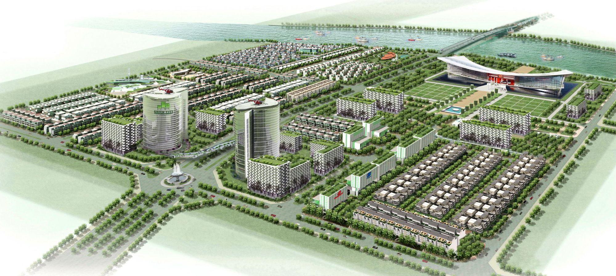 Dự án bất động sản Đồng Tâm Group - The Green City