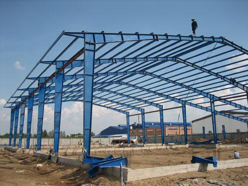 Quy trình xây dựng nhà khung thép tiền chế