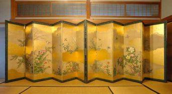 Bình phong – Đồ nội thất không thể thiếu trong nhà Nhật