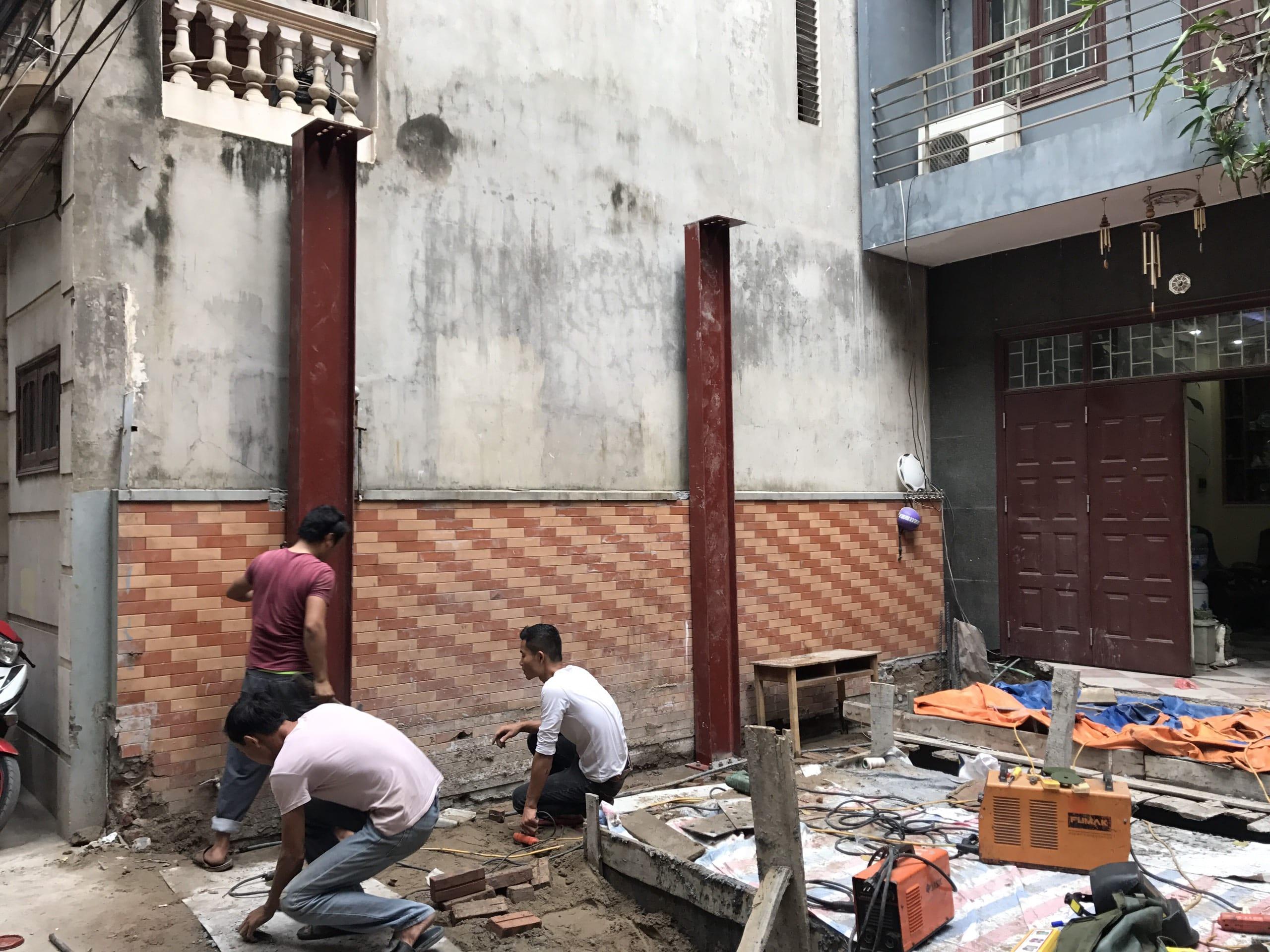 Cải tạo nhà A Đăng số nhà 3 ngõ 93 Trung Kính Hà Nội 02