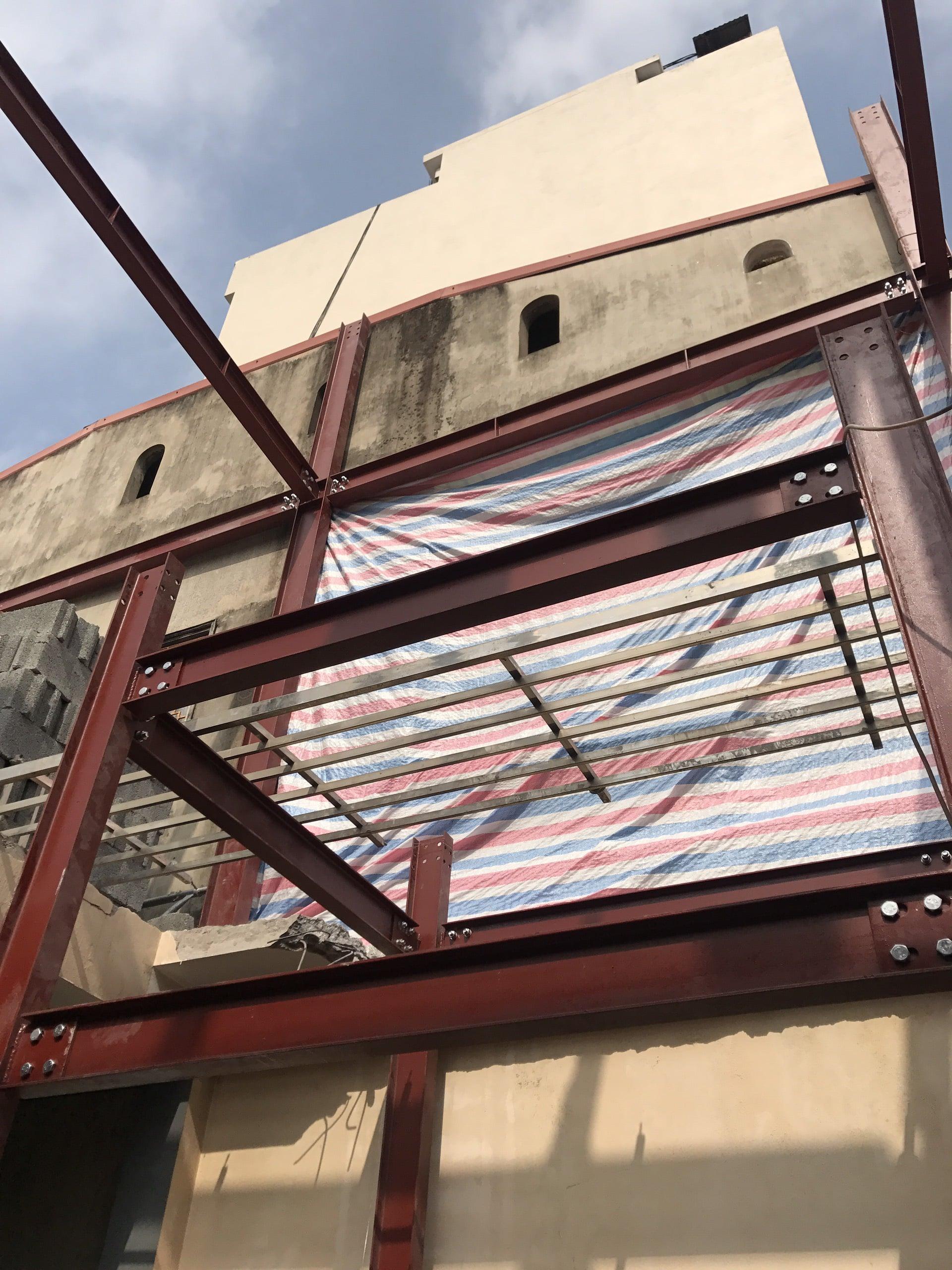Giải pháp cải tạo công trình nhà phố bằng khung thép 1
